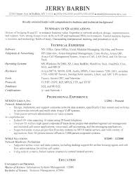 Best It Resume Sample by Sample It Resume Uxhandy Com
