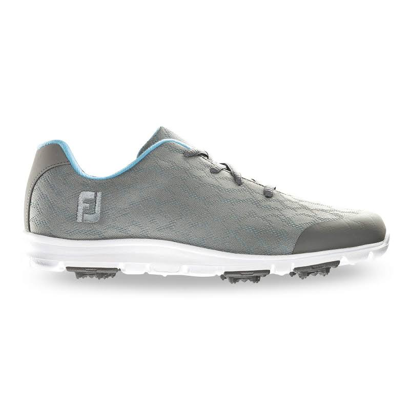 FootJoy enJoy Golf Shoes 2019 Grey/Bluefish,