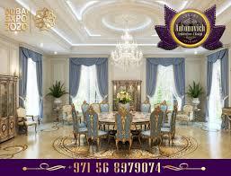 Home Decor And Interior Design luxury interior design dining room antonovich design ae