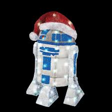 The Home Depot Christmas Decorations Kurt S Adler 28 In Star Wars R2d2 Yard Decor Zhdusw9133 The