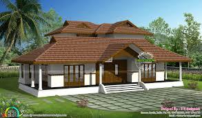 Traditional Home Interiors Kerala Traditional Home With Plan Nalukettu Plans Single Storey