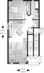 dormount triplex design plan 032d 0608 house plans and more