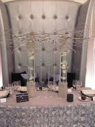 Black Blue And Silver Table Settings Creative Expressions The Elegant Wedding Show