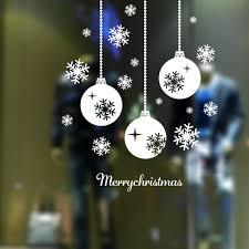 popular christmas ornament window stickers buy cheap christmas