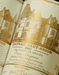 Fine Wine Merchants | Haut Brion label