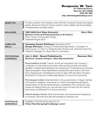 Resume Examples  Graphic Designer Resume Objective  sample graphic         Resume Examples  Resume Example For Graphic Designer Objective With Education In Bachelor Of Fine Professional
