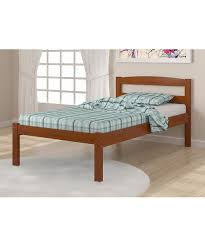 Bedroom Furniture Espresso Finish Amazon Com Solid Wood Espresso Twin Bed Kitchen U0026 Dining