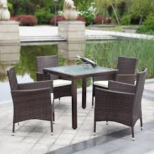 Black Wicker Patio Furniture Sets - patio surprising patio chair set discount outdoor furniture
