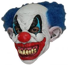scary clown mask for masks and fancy dress costumes vegaoo