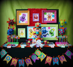 halloween party theme ideas stunning monster party decorations ideas 10 concerning inspiration