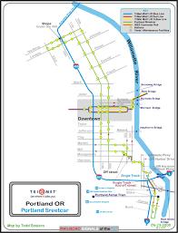 Los Angeles Light Rail Map by Portland Or Railfan Guide