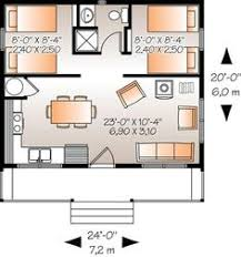 Small House Floor Plan by New Panel Homes 20 By 30 Traditional Floor Plan Small Tiny