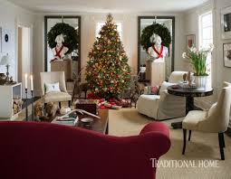 a designer u0027s festive country house traditional home