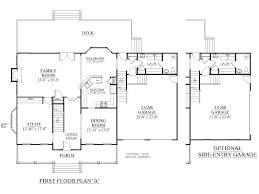 southern heritage home designs house plan 2929 a the hampton a