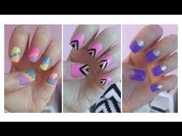 easy nail art for beginners youtube