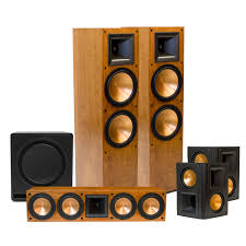 7 1 home theater system rf 7 ii home theater system klipsch speakers pinterest