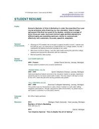 How To Write Job Resume by How To Write Resume College Student Free Resume Builder Resume