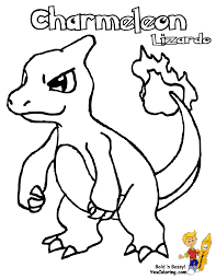 charmander coloring pages getcoloringpages