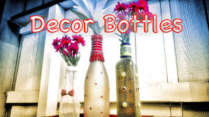 diy home decor beautiful bottle crafts from recycled items best