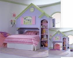 bedrooms for girls with bunk beds bedroom pink girls loft bed with slide and swing set for kids