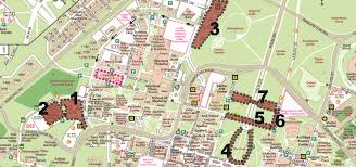 Stanford Shopping Center Map Construction Impacts To Parking Or Service Stanford Parking