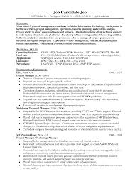 Technical Skills On Cv Technical Executive Resume Resume For Your Job Application
