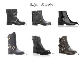 leather biker boots biker boots style barista
