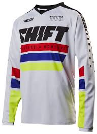 motocross jersey design your own shift recon phoenix jersey revzilla