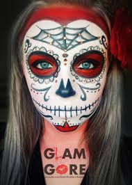 sugar skull face paint for more makeup looks and tutorials www