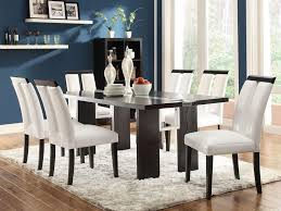 formal dining room curtain ideas four pieces covered fabric chairs