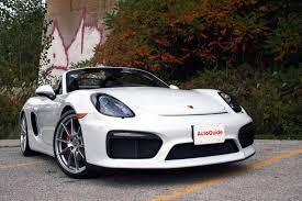 Porsche Boxster Trunk - 2016 jaguar f type vs 2016 porsche boxster spyder autoguide com news
