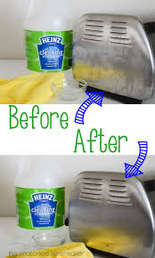 clean with vinegar cleaning stainless steel