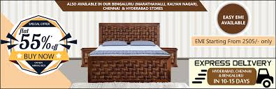 Home Furnishing Stores In Bangalore Buy Online Solid Wood Decor Furniture Items With Free Shipping