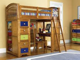 bunk beds bearrific loft drawer and desk bunk bed pulaski