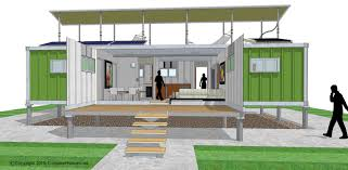 Container Houses Floor Plans Mesmerizing 20 Shipping Container Office Plans Decorating Design