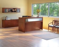 Office Furniture For Reception Area by Top Office Furniture Reception Desk With Rugs White Office Chairs