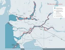 Canada Rail Map by The Port Of Vancouver Jurisdictional Map U2013 Port Of Vancouver