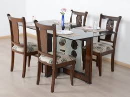 Buy Rubber Wood Furniture Bangalore Solid 4 Seater Dining Table Set Buy And Sell Used Furniture And