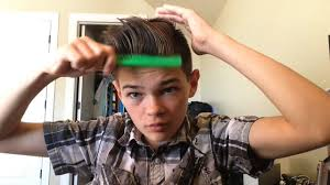 how to make an awesome hair style for boys youtube