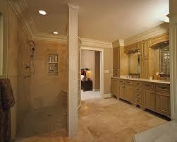 custom vanity and walk in shower