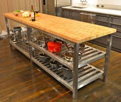 Kitchen Island With Chopping Block Top Kitchen Island With Butcher Block Top Sarabi Studio