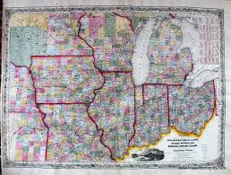 Ohio Kentucky Map by Guide Through Ohio Michigan Indiana Illinois Missouri