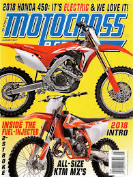 motocross action magazine subscription motocross action magazine have you seen the new mxa august out now