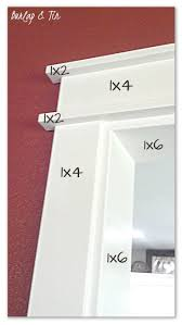 Kitchen Cabinet Face Frame Dimensions Best 20 Door Molding Ideas On Pinterest Interior Door Trim