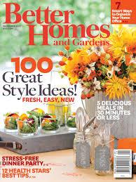 better homes and gardens 2013 annette joseph
