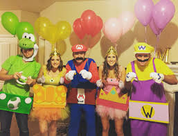 care bear halloween costumes 8 co ed group halloween costumes mario kart mario and costumes