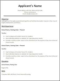 Resume Template  Objective Portion Of Resume With Qualifications And Experience As Associate  Objective Portion     Break Up