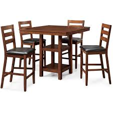 Patio Furniture Counter Height Table Sets - better homes and gardens dalton park 5 piece counter height dining
