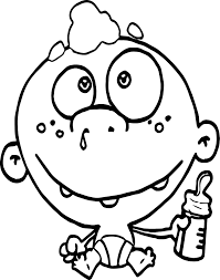 baby boy coloring pages contegri com