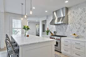 Farmhouse Kitchens Designs Contemporary Modern Farmhouse Kitchen Design White Via Hello